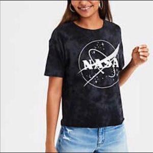 American Eagle NASA acid wash t-shirt